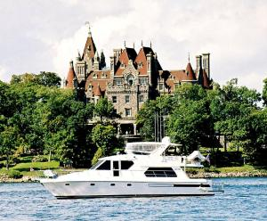 A castle on The Thousand Islands